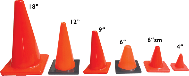 Marking, Cones, Flags