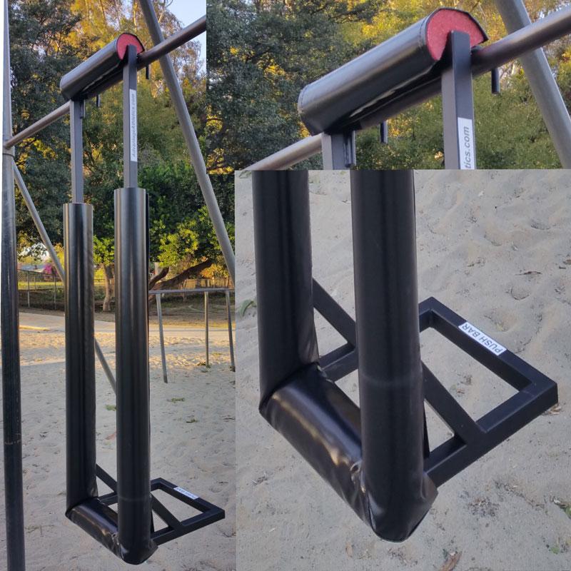 Pole vault swing