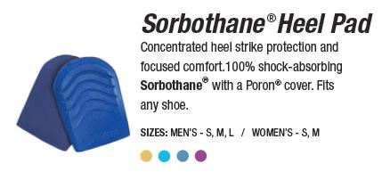 Sorbothane® Heel Pads