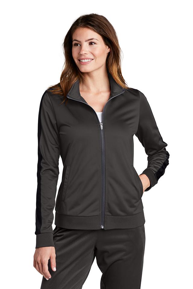 Ladies Sport-Tek ® Tricot Track Jacket