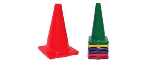 Colored 18in. Cones Multi-Pack