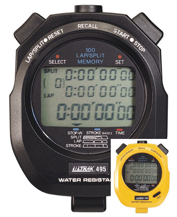 Ultrak 495 100 Memory Stopwatch