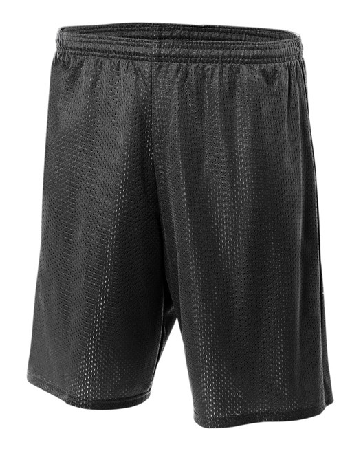"A4 Tricot Mesh 6"" Youth Short"