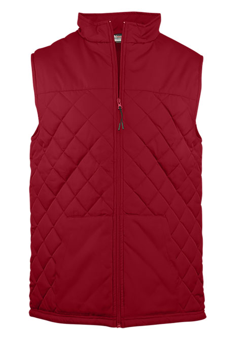 Badger Quilted Vest Womens