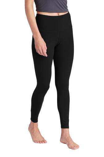 Sport-Tek ® Ladies High Rise 7/8 Legging