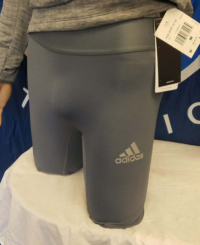 Adidas Alphaskin 9in M Tight GREY
