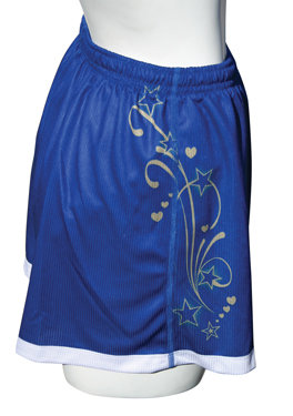 Sublimated Mens 7 in Short