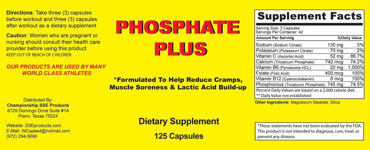 Phosphate Plus
