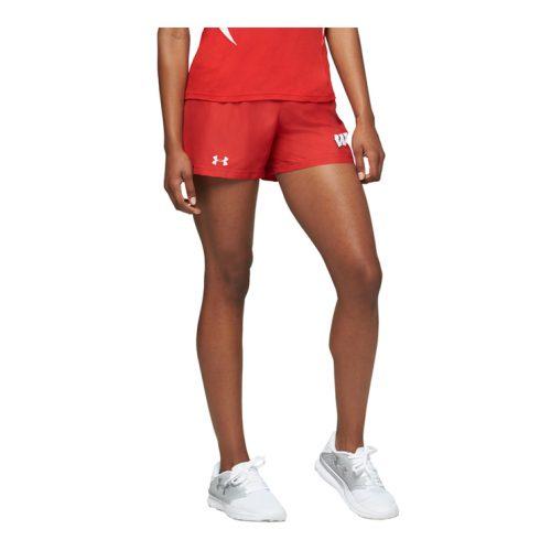 UA Womens Track 4in. Kick Short