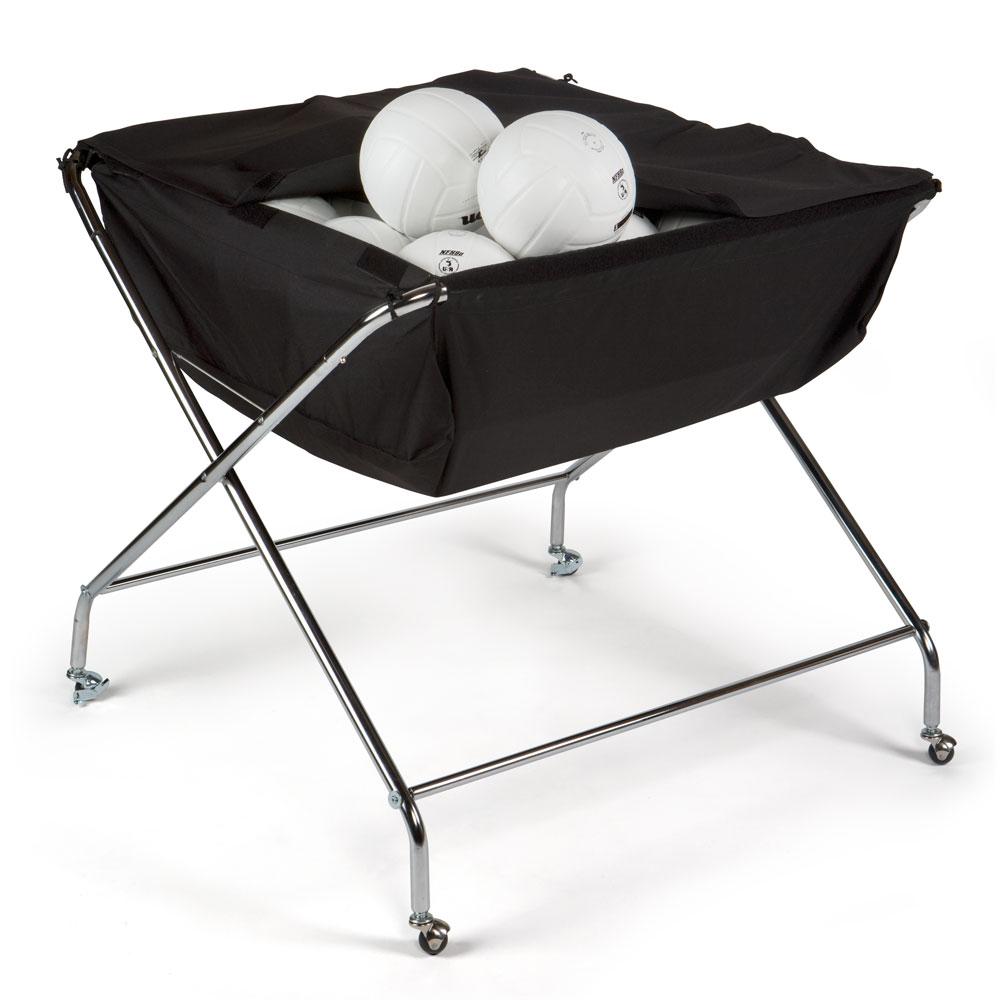 Drill Volleyball Cart