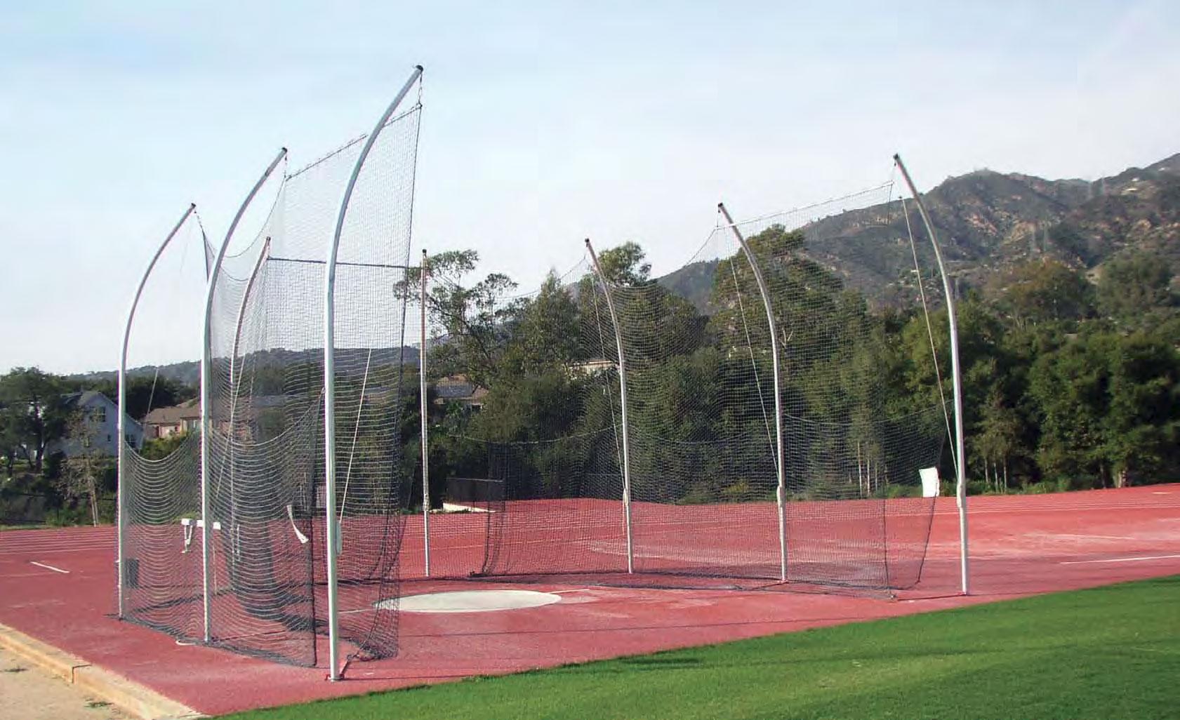 NCAA Aluminum Discus Cage