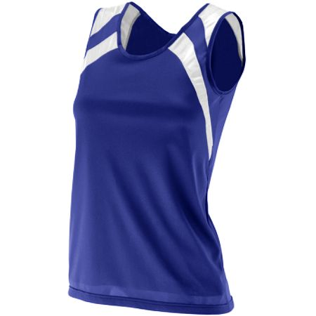 Augusta Wicking Tank w/Shoulder Insert - Womens