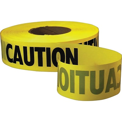 Caution Tape 3in x 1000ft