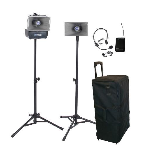 Amplivox Wireless Half-Mile Hailer Kits