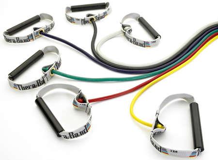 THERA-BAND Tubing with Hard PVC Handles