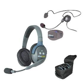 Eartec UltraLITE 2 person system Dual w/Cyber Headset
