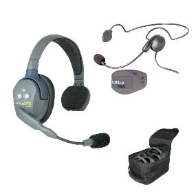 Eartec UltraLITE 2 person system w/Cyber Headset