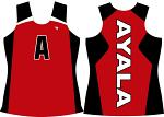 Mens Solid Sublimated Singlet - Ayala