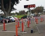 6 Digit LED Race Clock