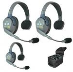 Eartec UltraLITE 3 person systems